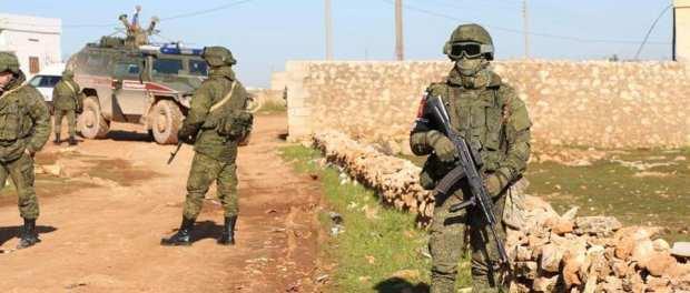 Pertama Kali! Militer Rusia Disiagakan Sepanjang Jalan Raya Aleppo-Damaskus