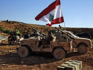 Tentara Lebanon Tembaki Drone Israel