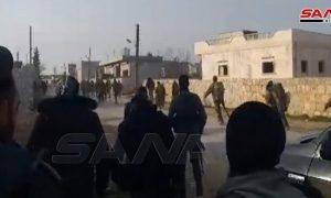 Saraqeb Bebas, Tentara Suriah Bersihkan Ranjau dan Bom yang Ditanam oleh Teroris