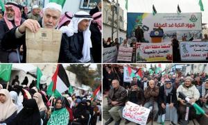 Warga Palestina Kembali Gelar Demo Protes Kesepakatan Abad Ini Trump
