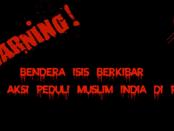 """HEBOH! Ada Bendera """"ISIS"""" dalam Demo Peduli Muslim India di Poso"""