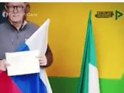 Viral, Ucapkan Terima Kasih ke Putin, Pria Italia Ganti Bendera UE dengan Bendera Rusia