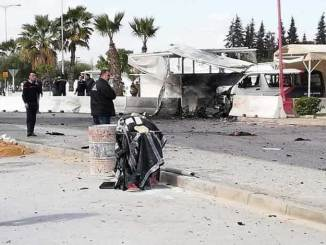 Video Bom Bunuh Diri di Depan Kedutaan AS di Tunisia