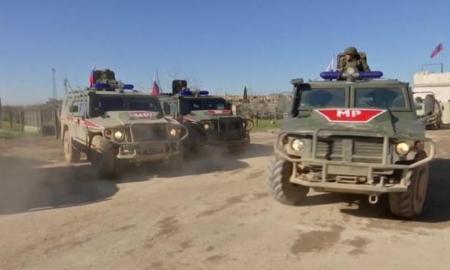 Pasukan AS Blokir Konvoi Besar Militer Rusia di Hasakah