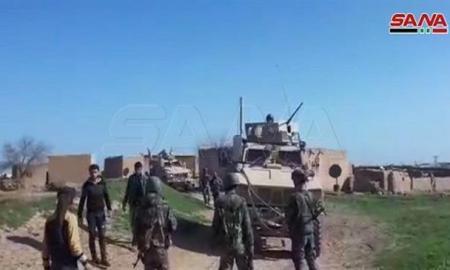 Tentara Suriah dan Warga Hadang Konvoi Militer AS di Hasakah