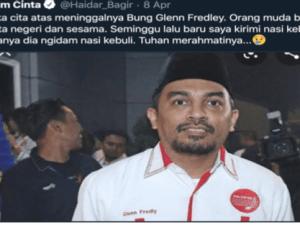 Viral Video Glenn Fredly Baca Shalawat Badr, Cendekiawan: Dia Musikus Toleran