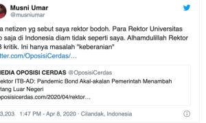 Wahyu Sutono: Musni Umar Rektor Ngaco dan Catut Nama ITB