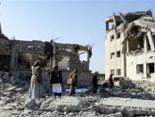 Dalam Seminggu Saudi Lakukan 300 Serangan Udara atas Yaman