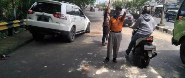 Eggi Sudjana Kecelakaan Tunggal di Cibinong, Begini Kondisinya