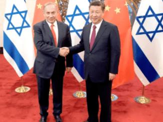AS Minta Israel Putus Hubungan dengan China