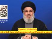 Bebaskan Palestina, Sekjen Hizbullah Akan Wujudkan Mimpi Shadow Commander