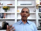 Tunjukkan Oposisi dengan Trump, Pidato Obama Dukung Pendemo AS