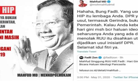 Wahyu Sutono: RUU HIP Siasat Politikus Busuk yang Ingin Hancurkan Pancasila dan NKRI