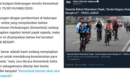 "Wahyu Sutono ""Semprot"" Fadli Zon yang Ikut Sebar Hoax Sepeda Kena Pajak"