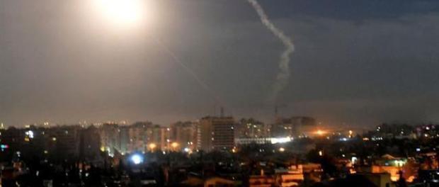 Pertahanan Udara Suriah Cegat Serangan Drone di Kota Jableh