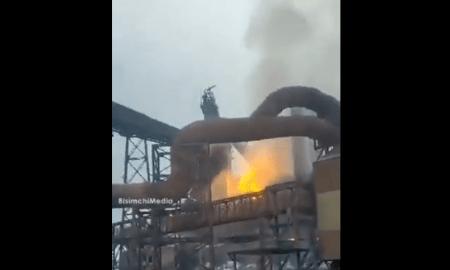 Video: Kebakaran Besar di Fasilitas Pompa Air Israel karena Serangan Cyber