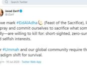 Pesan Idul Adha Menlu Iran: Keselamatan Umat Manusia Butuh Pengorbanan Ego Pribadi