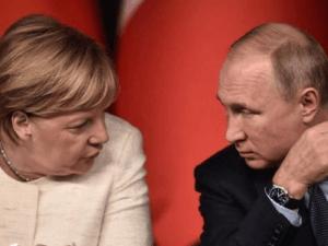 Putin ke Merkel: Sanksi AS terhadap Iran Hanya Sia-sia