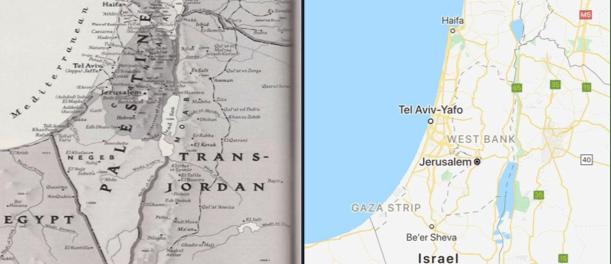Warganet Geram, Google dan Apple Hapus Palestina dari Peta Dunia