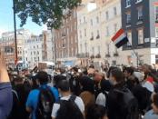 Ribuan Pengunjuk Rasa Inggris Tuntut London Stop Dukung Saudi dalam Perang Yaman