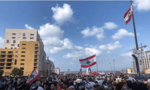 Lobi Zionis di Washington Puji Para Perusuh di Lebanon