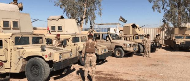 Keamanan Irak Tangkap 31 Pria Bersenjata di Perbatasan Suriah