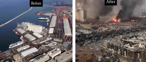 15 Video Ledakan Beirut dari Berbagai Sudut Kota