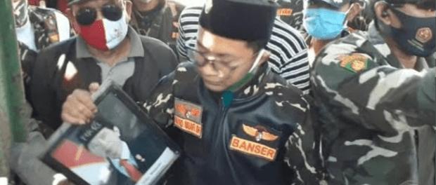 Diduga Kepsek Yayasan di Rembang yang di Geruduk Ansor Sebut Wapres RI
