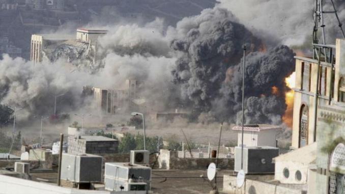 Jet-jet Saudi Bombardir Lepas Pantai Najran 3 Kali Berturut-turut
