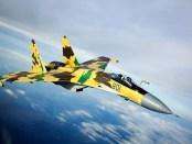 Rusia Lebih Banyak Kerahkan Jet Su-35 ke Suriah