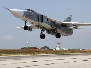 Jet Tempur Rusia Lancarkan Serangan ke Sejumlah Target Teroris di Idlib