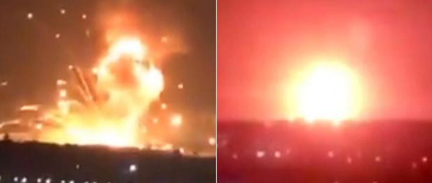 BREAKING NEWS! Ledakan Besar Guncang Yordania