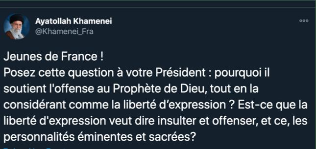 Pakai Bahasa Prancis, Inilah Jawaban Telak Pemimpin Iran kepada Macron