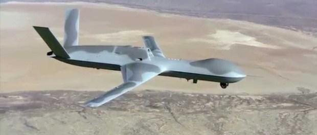 Drone AS Jatuh Dekat Pasukan Suriah di Hasakah