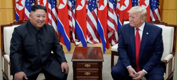 Kim Jong-Un Kirim Pesan Simpati ke Trump