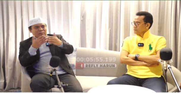 Podcast Bersama Refly Harun, Sugi Nur Habis-habisan Hina NU