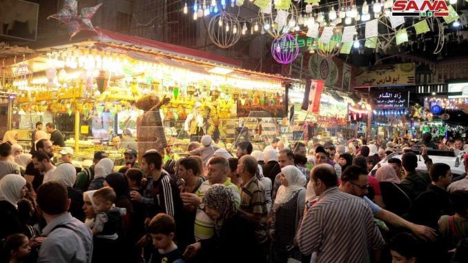 Perayaan Maulid Nabi di Midan, Suriah