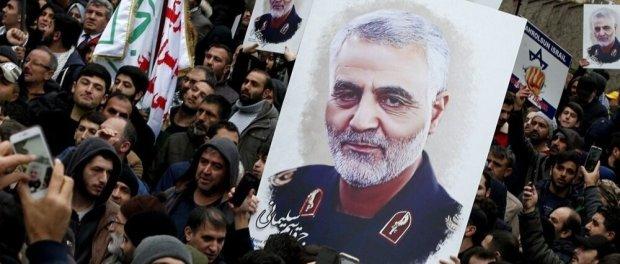 Dihadapan Menhan Irak, Komandan IRGC Tegaskan Pembalasan Pembunuhan Soleimani