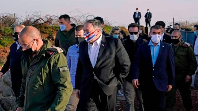 Liga Arab, Suriah Kutuk Kunjungan Pompeo ke Tepi Barat dan Golan