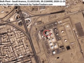 Citra Satelit Tunjukkan Kerusakan Parah Akibat Serangan Rudal Yaman ke Aramco