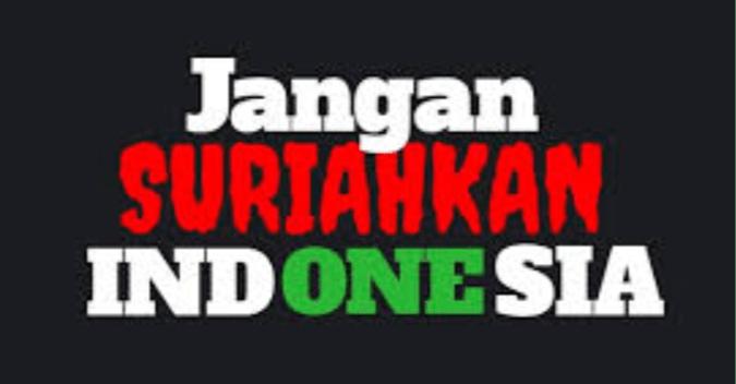 Denny Siregar: Indonesia, Ayo Belajarlah dari Suriah