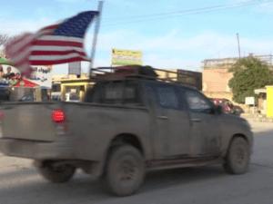 Konvoi Militer AS Tinggalkan Suriah Menuju Irak