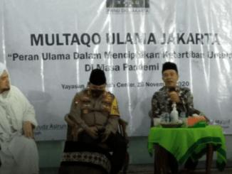 Forum Multaqo Ulama DKI Jakarta Imbau Tokoh Agama Jadi Pelopor Utama Prokes