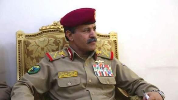 Menteri Pertahanan Yaman, Mayjen Mohammad Al-Atifi