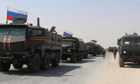 Militer Rusia Kirim Bala Bantuan Militer Besar ke Qamishli Suriah