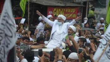 Jadi Tersangka Kasus Kerumunan, Polda Metro Siap Tangkap Habib Rizieq