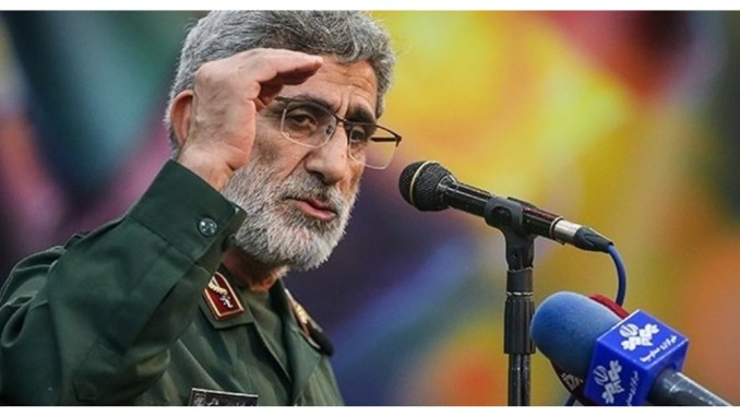 HEBOH! Komandan IRGC Iran Kunjungi Irak