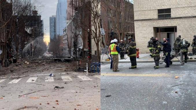 Video Ledakan Besar Guncang Kota Nashville di Hari Natal