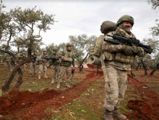 Turki Tingkatkan Kampanye Militer di Suriah Timur