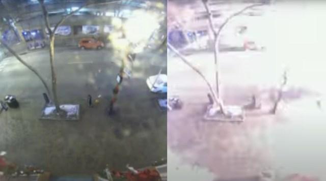 Rekaman CCTV Ungkap Penyebab Ledakan di Nashville